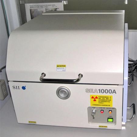 X-Ray Chemical elements Analyzer - SEA1000A Ⅱ XRF spectrometer.