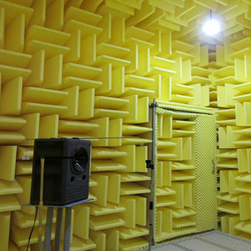 無響室設施。