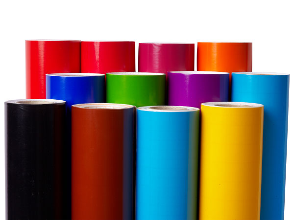 Polymeric Color Vinyl - Translucent Vinyl in Polymeric grade for light box.