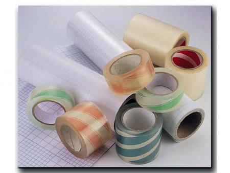 Application Tapes - Transferring cut or printed vinyl decals onto the substrate.