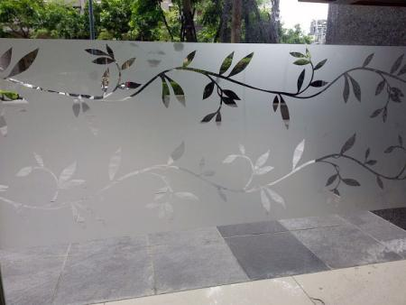 Frosted Window Film.