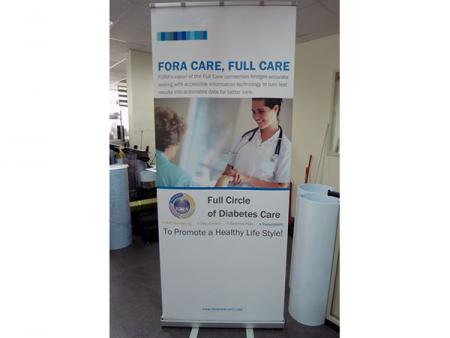 Rigid PVC Display Film for Solvent Printing - Digital Printable White POP UP Film