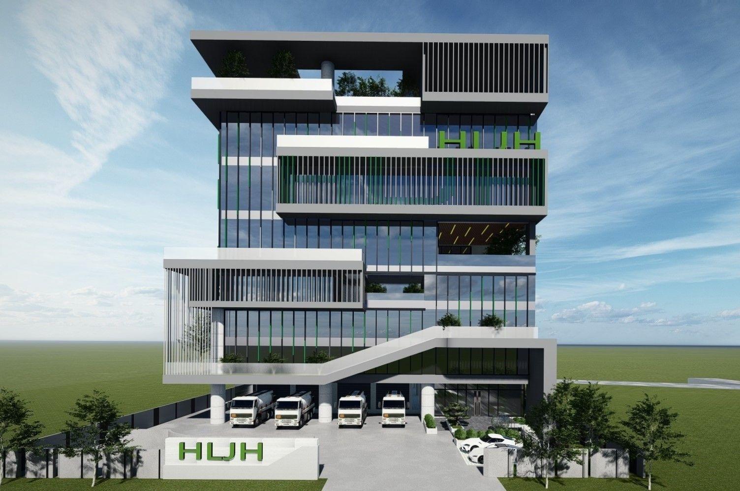 海陆家赫位于潭子聚兴工业园区厂房建置中