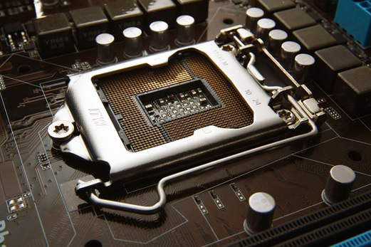 Värmeavskiljare som håller CPU