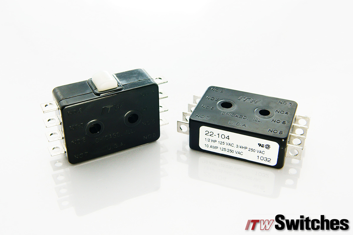 Snap Action Switches - Snap Action Switches Series 22