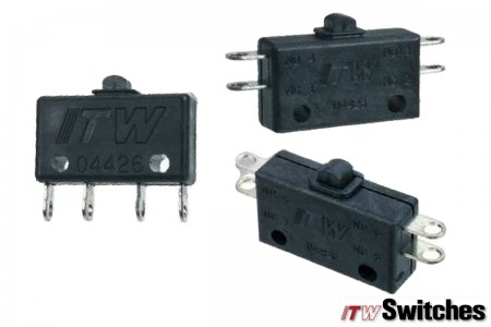 Snap Action Switches - Snap Action Switches Series KAP 16