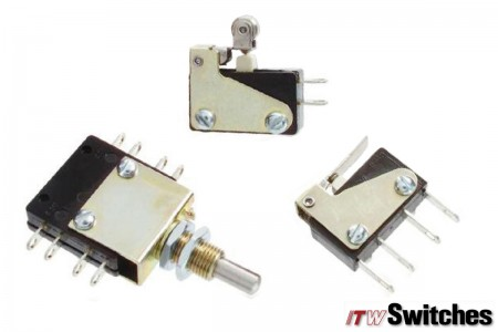 Snap Action Switches - Snap Action Switches Series 16 Actuators