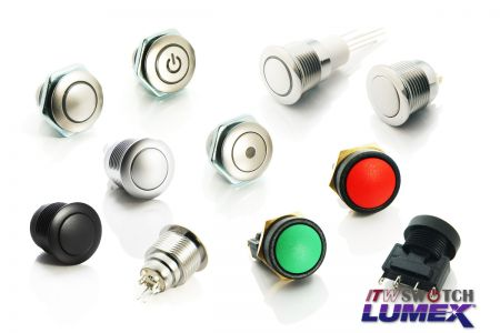 16mm Pushbutton - 16mm Pushbutton