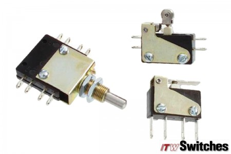 Snap Action Switches - Snap Action Switches Series 26 Actuators