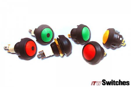 12mm Pushbutton Switches