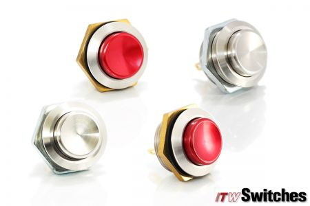 19mm  Pushbutton Switches