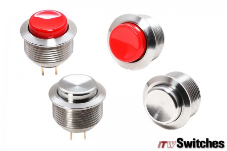 19mm  Pushbutton Switches - Pushbutton Switches Series 76-59