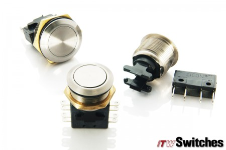 19mm  Pushbutton Switches - Pushbutton Switches Series 76-95