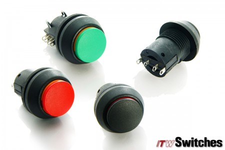 22mm Pushbutton Switches - Pushbutton Switches Series 76-97