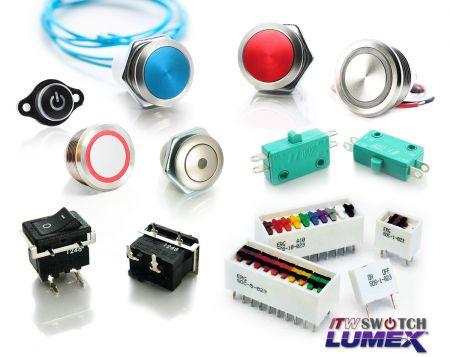Interruttore ITW Lumex/ERG - Interruttore ITW Lumex