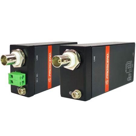 Extensor Ethernet industrial sobre coaxial - Extensor Ethernet sobre Coaxial Industrial