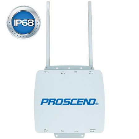 IP68 Outdoor Industrial Cellular Router M301-TXG -sarja - Ulkoinen IP68-teollisuus 4G LTE Dual SIM -matkareititin
