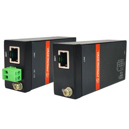 Extensor de Ethernet industrial - Extensor Ethernet industrial de largo alcance