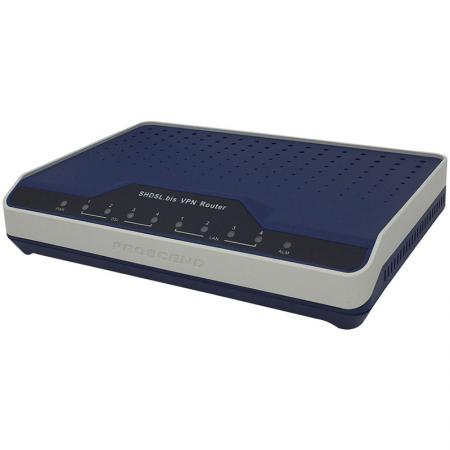 SHDSL EFM / ATM VPN -router - Säker SHDSL EFM / ATM VPN -router