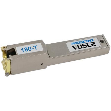 Modem VDSL2 SFP - Telco - Modem SFP VDSL2 para aplicações de telecomunicações