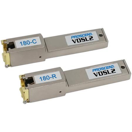 Modem SFP VDSL2 - Modem SFP VDSL2 industrial para extensão Ethernet de longo alcance