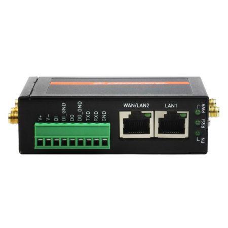 เราเตอร์มือถือ Wi-Fi 4G LTE อุตสาหกรรม M330 มุมมองด้านหน้า