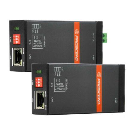 Industrial Long Reach Ethernet Extender