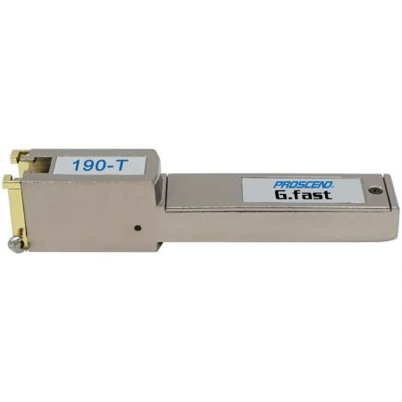 G.fast SFP Modem 190-T Right Side