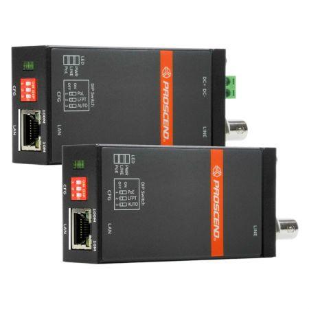 Extensor de Ethernet de largo alcance por cable coaxial