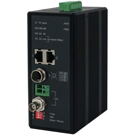 Industrial VDSL2 Ethernet Extender 701MI Side