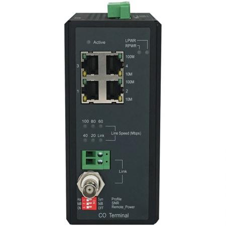 Master 701MP Industrial Long Reach Power over Ethernet Front