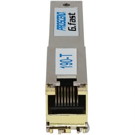G.fast SFP Modem 190-T Front View