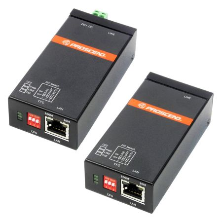 Plug-n-play Power over Ethernet Extender