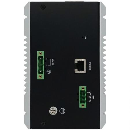 Industrial Managed Power over Ethernet Switch 12-Port 708P Top