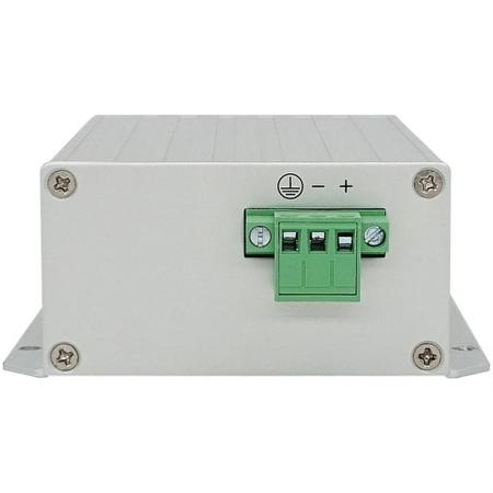 ロングリーチPower over Ethernet Extender 100MP背面図