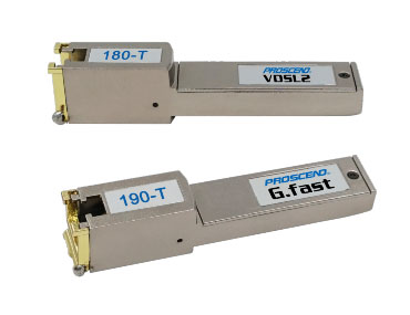 DSL SFP -modem - Små formfaktorer, der kan indsættes i SFP-modul