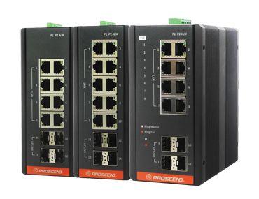 Industriële Ethernet-switch - Industriële GbE-switch.