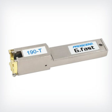 G.fast SFP數據機190-T