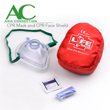 CPR Mask and CPR Face Shield