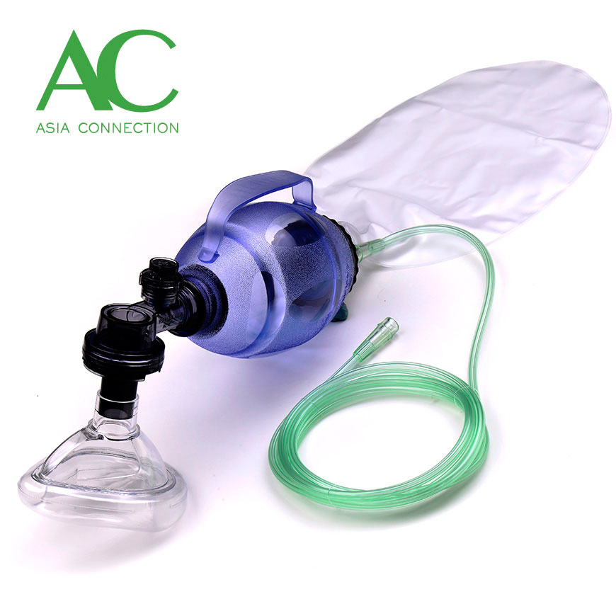 Child Disposable Manual Resuscitator BVM with Handle - Child Disposable Manual Resuscitator BVM with Handle