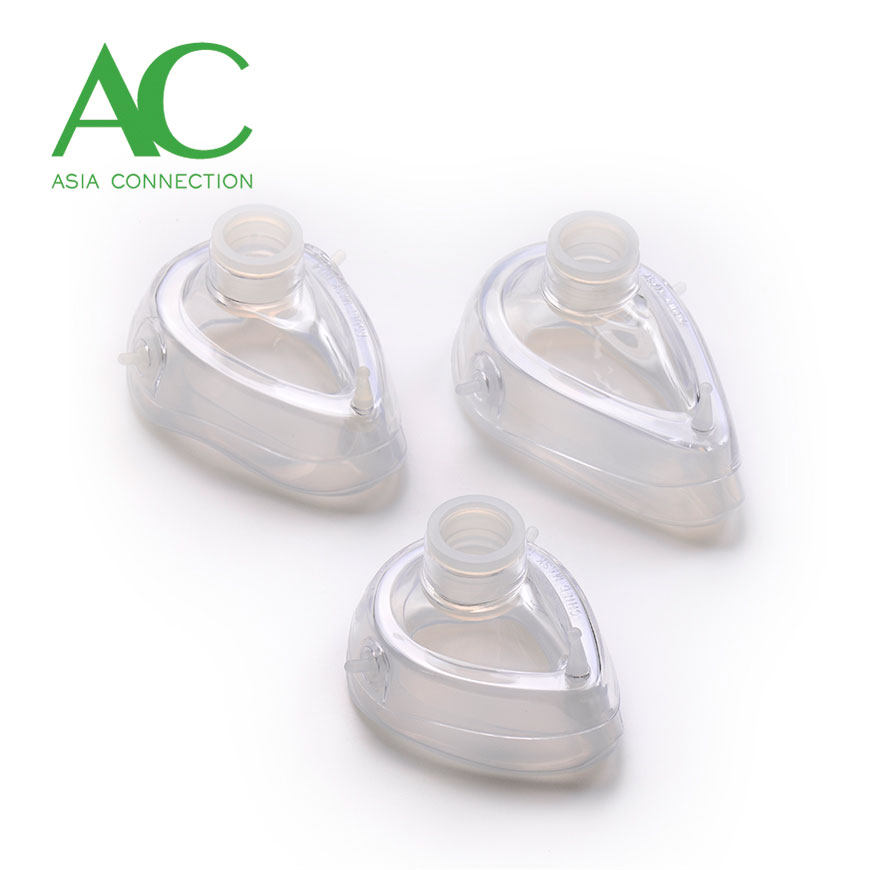 Two-Piece Resuscitation Silicone Masks - Two-Piece Resuscitation Silicone Masks