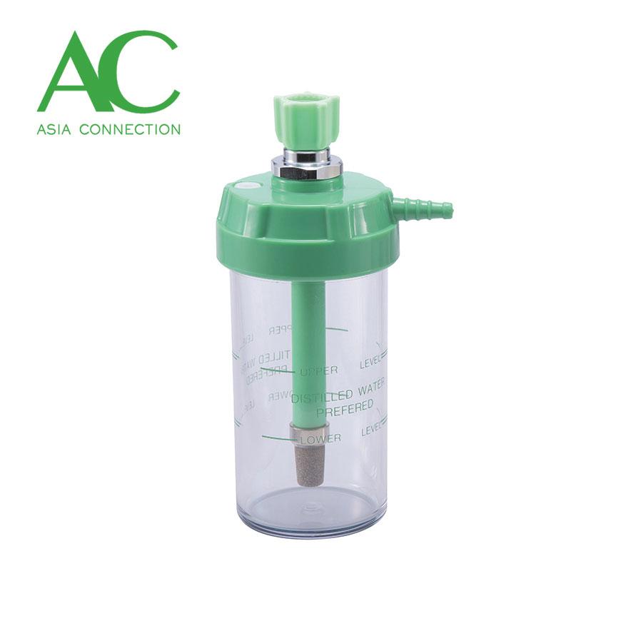 Bouteille d'humidificateur / bouteille d'humidificateur d'oxygène - Bouteille d'humidificateur