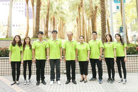 Team di vendita di Asia Connection e direttore generale Mr. Sam Lee