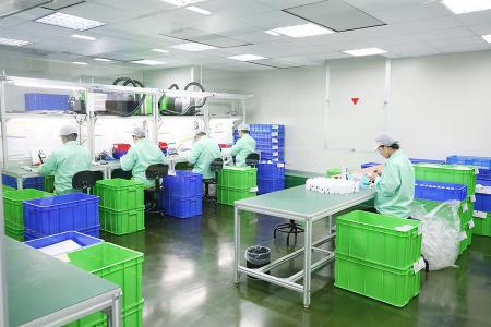 Product Assembly in a Controlled Clean Room