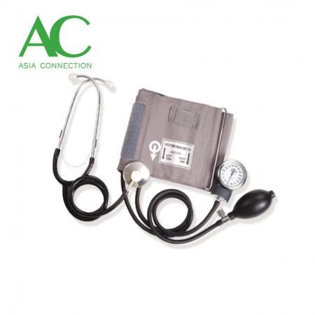 Aneroid Sphygmomanometer with Stethoscope - Aneroid Sphygmomanometer with Stethoscope