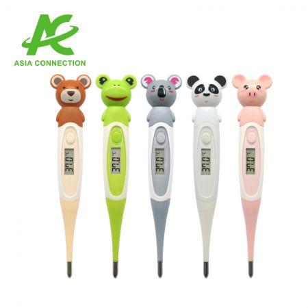 30秒の動物用フレキシブルデジタル体温計 - 柔軟なデジタル温度計
