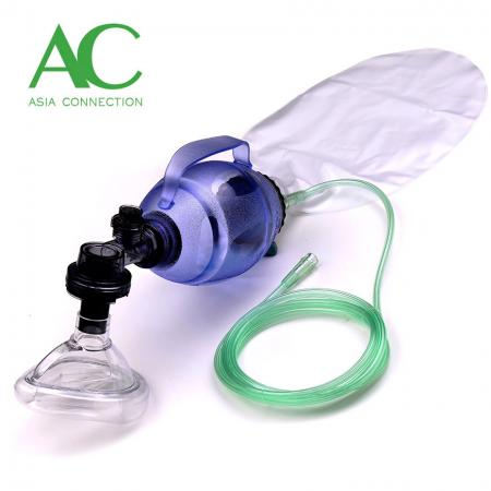 Child Disposable Manual Resuscitator BVM with Handle