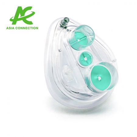 Twin Port CPAP Masks with One Valve for Child