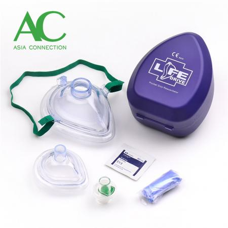 Adult & Infant CPR Pocket Masks sa Hard Case - Adult & Infant CPR Pocket Masks sa Hard Case