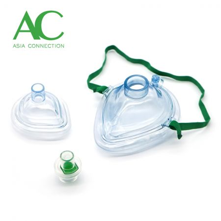 Adult & Infant CPR Pocket Masks and One Way Valve